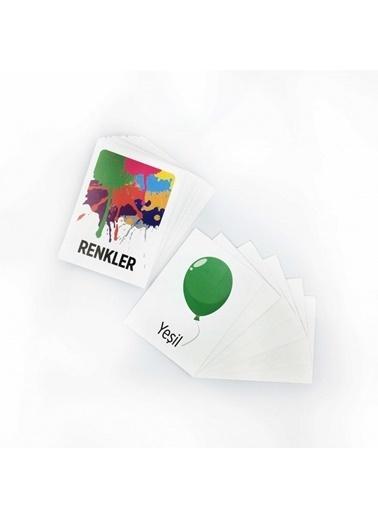Artikel Renkler Eşleştirme Hafıza Kart Oyunu Renkli